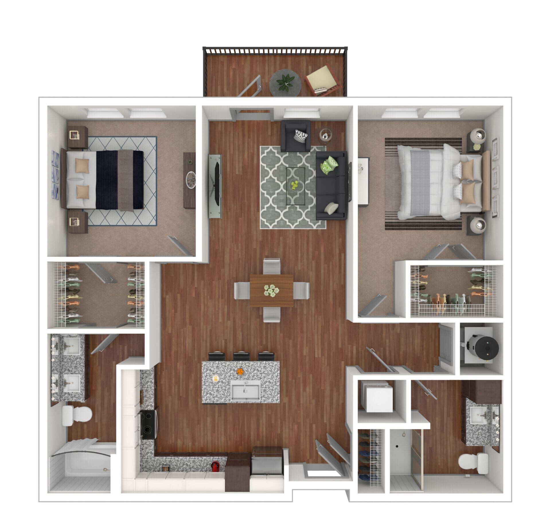 Switchback - The Otis at Fort Ben Apartments