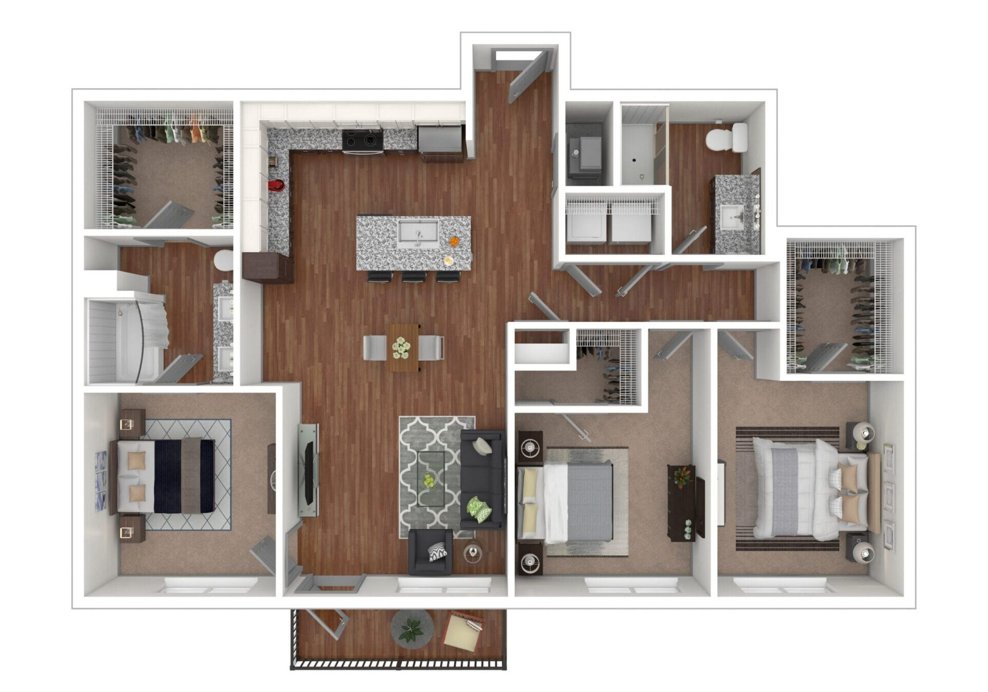 Willow - The Otis at Fort Ben Apartments